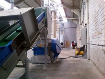 image of recycling system for uPVC window frames