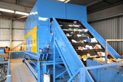In-Feed Belt Conveyor